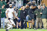 Baylor wide receiver Jay Lee (4) catches a pass for a touchdown during first half of an NCAA football game, Saturday, November 22, 2014 in Waco, Tex. Baylor leads 28-14 at the halftime. (Mo Khursheed/TFV Media via AP Images)