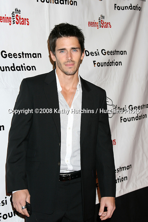 Brandon Beemer arriving at the Desi Geestman Foundataion Annual Evening with the Stars at the Universal Sheraton Hotel in Los Angeles, CA.October 11, 2008.©2008 Kathy Hutchins / Hutchins Photo...                .