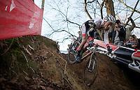 Mathieu Van der Poel (NLD/BKCP-Powerplus)<br /> <br /> CX Leuven Soudal Classic 2015