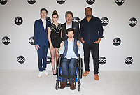BEVERLY HILLS, CA - August 7: Mason Cook, Kyla Kenedy, Micah Fowler, John Ross Bowie, Cedric Yarbrough, at Disney ABC Television Hosts TCA Summer Press Tour at The Beverly Hilton Hotel in Beverly Hills, California on August 7, 2018. <br /> CAP/MPI/FS<br /> &copy;FS/MPI/Capital Pictures