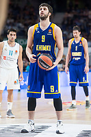 Khimki Moscow Stefan Markovic during Turkish Airlines Euroleague match between Real Madrid and Khimki Moscow at Wizink Center in Madrid, Spain. November 02, 2017. (ALTERPHOTOS/Borja B.Hojas) /NortePhoto.com