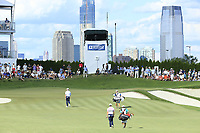 Rory McIlroy (NIR) during the third round of the Northern Trust played at Liberty National Golf Club, Jersey City, USA. 10/08/2019<br /> Picture: Golffile | Michael Cohen<br /> <br /> All photo usage must carry mandatory copyright credit (© Golffile | Michael Cohen)