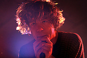 Cage The Elephant performs at Cat's Cradle in Carrboro, N.C., Tuesday, Feb. 23.