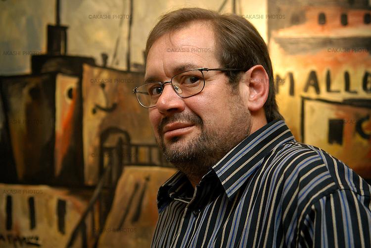 Rafel Crespí-Escriptor.BCN Gener 2006.©Tina Bagué