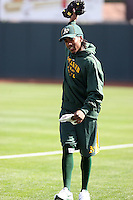 Jemile Weeks #59 of the Oakland Athletics participates in spring training workouts at the Athletics complex on February 16, 2011  in Phoenix, Arizona. .Photo by:  Bill Mitchell/Four Seam Images.