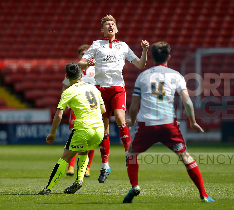 Harvey Gilmour of Sheffield Utd during the PDL U21 Final at Bramall Lane Sheffield. Photo credit should read: Simon Bellis/Sportimage