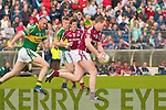Kerry's Michea?l Quirke and Galway's Barry Cullinane.