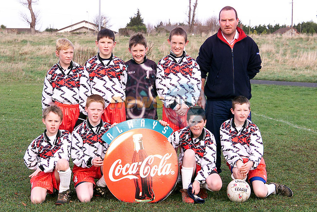 River Celtic Under 11's who played Kentstown Green at the weekend. Back Row L/R, Andrew Carr, Jason Johnson, Ian Farrell, Richard Kelly and Derek Buckley, manager. Front Row L/R, Ciaran Floyd, Stephen Kierans, Keith O'Brien and Barruy Thornton..Picture: Paul Mohan/Newsfile