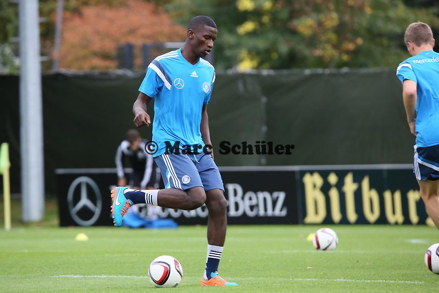 Antonio Rüdiger - Training der Deutschen Nationalmannschaft in Frankfurt