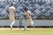 November 5th 2017, WACA Ground, Perth Australia; International cricket tour, Western Australia versus England, day 2; Western Warriors Josh Philippe run after hitting four runs off England player Stuart Broad