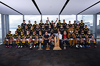 Wellington Children's Hospital charity partners. The 2019 Wellington Lions Mitre 10 Cup rugby team photo at Westpac Stadium in Wellington, New Zealand on Friday, 11 October 2019. Photo: Dave Lintott / lintottphoto.co.nz