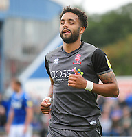 Lincoln City's Bruno Andrade<br /> <br /> Photographer Andrew Vaughan/CameraSport<br /> <br /> The EFL Sky Bet League One - Macclesfield Town v Lincoln City - Saturday 15th September 2018 - Moss Rose - Macclesfield<br /> <br /> World Copyright &copy; 2018 CameraSport. All rights reserved. 43 Linden Ave. Countesthorpe. Leicester. England. LE8 5PG - Tel: +44 (0) 116 277 4147 - admin@camerasport.com - www.camerasport.com