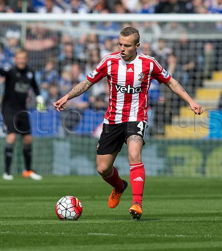 03.04.2016. King Power Stadium, Leicester, England. Barclays Premier League. Leicester versus Southampton.  Southampton midfielder Jordy Classy on the ball.