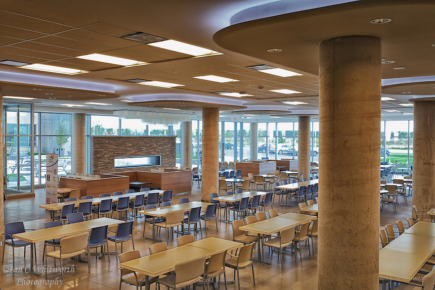 Oakville Trafalgar Memorial Hospital cafeteria.