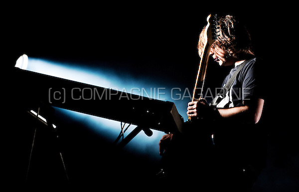 Concert of the Belgian electro band Goose at the Laundry Day festival in Antwerp (Belgium, 01/09/2012)