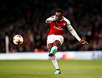 Arsenal's Danny Welbeck in action during the Europa League Semi Final 1st Leg, match at the Emirates Stadium, London. Picture date: 26th April 2018. Picture credit should read: David Klein/Sportimage