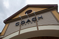 A Coach Factory store is pictured at the Settlers' Green Outlet Village in North Conway, New Hampshire Thursday June 13, 2013.
