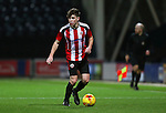 George Cantrill of Sheffield United U18s during the FA Youth Cup 3rd Round match at Deepdale Stadium, Preston. Picture date: November 30th, 2016. Pic Matt McNulty/Sportimage