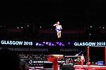 World Championships Gymnastics Mens All Around Final  2015 SSE Hydro Arena. .Max Whitlock