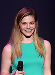 Molly Griggs on stage during The Fourth Annual High School Theatre Festival at The Shubert Theatre on March 19, 2018 in New York City.