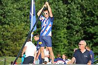 FIERLJEPPEN: WINSUM: 16-07-2014, ©foto Martin de Jong