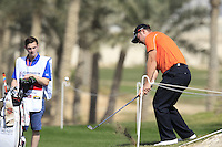 Scott Henry (SCO) chips onto the 16th green during Friday's Round 3 of the Commercial Bank Qatar Masters 2013 at Doha Golf Club, Doha, Qatar 25th January 2013 .Photo Eoin Clarke/www.golffile.ie