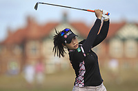 Moriya Jutanugarn (THA) on the 2nd fairway during Round 3 of the Ricoh Women's British Open at Royal Lytham &amp; St. Annes on Saturday 4th August 2018.<br /> Picture:  Thos Caffrey / Golffile<br /> <br /> All photo usage must carry mandatory copyright credit (&copy; Golffile | Thos Caffrey)