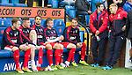 Rangers bench minus Danny Wilson