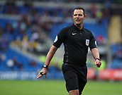 30th September 2017, Cardiff City Stadium, Cardiff, Wales; EFL Championship football, Cardiff City versus Derby County; Today's Referee is James Linington