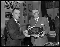1955 Grey Cup in Vancouver, BC.<br /> <br /> <br /> Photo via Agence Quebec Presse