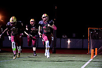 October 20, 2017:  Game action from the Xaverian vs Boston College High varsity football game played at Boston College high school, in Boston, Mass.  Boston College High defeats Xaverian 17-6. Eric Canha/BridgewaterSports.com