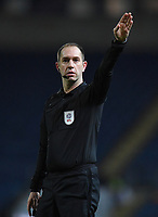 Referee Jeremy Simpson<br /> <br /> Photographer Dave Howarth/CameraSport<br /> <br /> The EFL Sky Bet Championship - Blackburn Rovers v Hull City - Tuesday 11th February 2020 - Ewood Park - Blackburn<br /> <br /> World Copyright © 2020 CameraSport. All rights reserved. 43 Linden Ave. Countesthorpe. Leicester. England. LE8 5PG - Tel: +44 (0) 116 277 4147 - admin@camerasport.com - www.camerasport.com