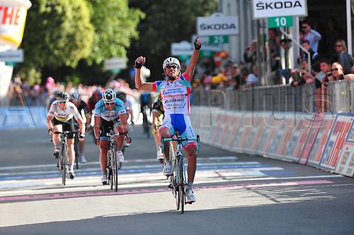 16.05.2012. Assisi, Italy.  Giro d'Italia, stage 11 Assisi to   Montecatini Terme, Androni Giocattoli 2012, Ferrari Roberto, Montecatini Terme