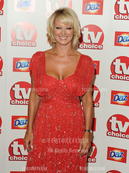 Gillian TaylForth arriving for the TV Choice Awards 2010 at the Dorchester Hotel, London. 06/09/2010  Picture by: Steve Vas / Featureflash
