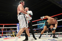 Tyson Fury vs Neven Pajkic in a boxing contest at EventCity, Trafford Park, Manchester, promoted by Hennessy Sports - 12-11-11 MANDATORY CREDIT: Chris Royle