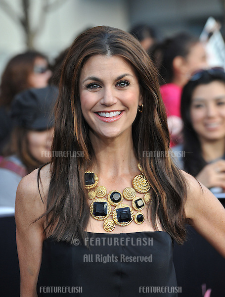 "Samantha Harris at the world premiere of ""The Twilight Saga: Breaking Dawn - Part 1"" at the Nokia Theatre, L.A. Live in downtown Los Angeles..November 14, 2011  Los Angeles, CA.Picture: Paul Smith / Featureflash"