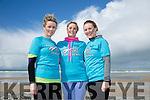 l-r  Ann Green, Susan Howard and Elish Clohessy at the Banna Beast Challenge on Saturday