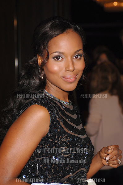 Actress KERRY WASHINGTON at the 9th Annual Hollywood Awards Gala at the Beverly Hilton Hotel. .October 24, 2005 Beverly Hills, CA..© 2005 Paul Smith / Featureflash