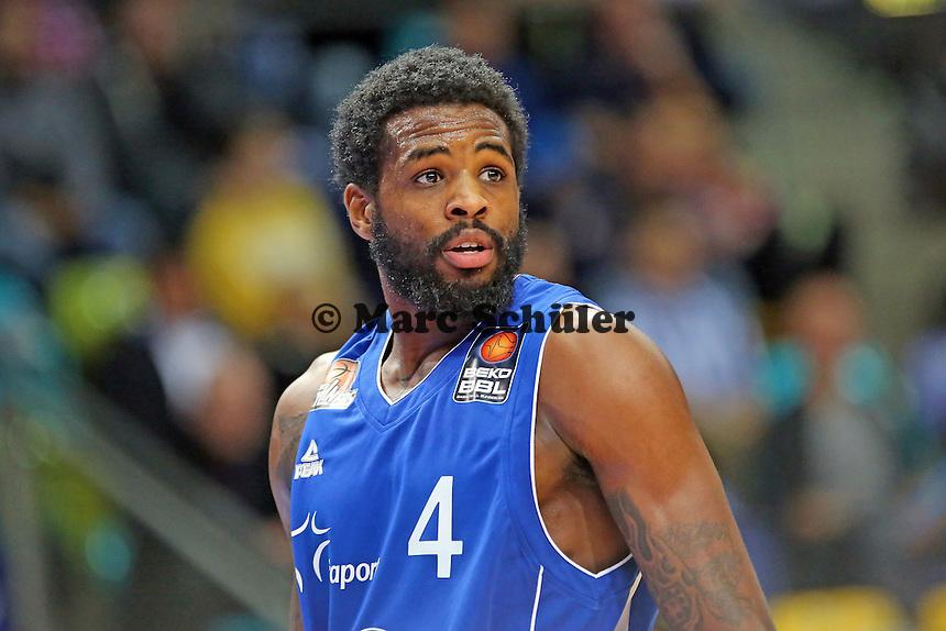 Neuzugang Ramon Galloway (Skyliners)- Fraport Skyliners vs. Telekom Baskets Bonn, Fraport Arena Frankfurt