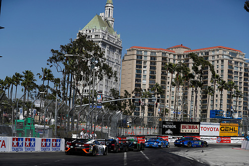 2017 IMSA WeatherTech SportsCar Championship<br /> BUBBA burger Sports Car Grand Prix at Long Beach<br /> Streets of Long Beach, CA USA<br /> Saturday 8 April 2017<br /> 93, Acura, Acura NSX, GTD, Andy Lally, Katherine Legge, 2, Nissan DPi, P, Scott Sharp, Ryan Dalziel, 14, Lexus, Lexus RCF GT3, GTD, Scott Pruett, Sage Karam<br /> World Copyright: Michael L. Levitt<br /> LAT Images