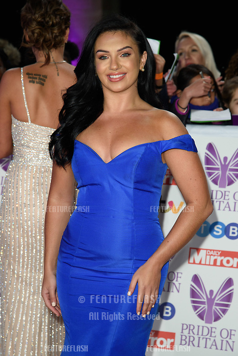 LONDON, UK. October 29, 2018: Alexandra Crane at the Pride of Britain Awards 2018 at the Grosvenor House Hotel, London.<br /> Picture: Steve Vas/Featureflash