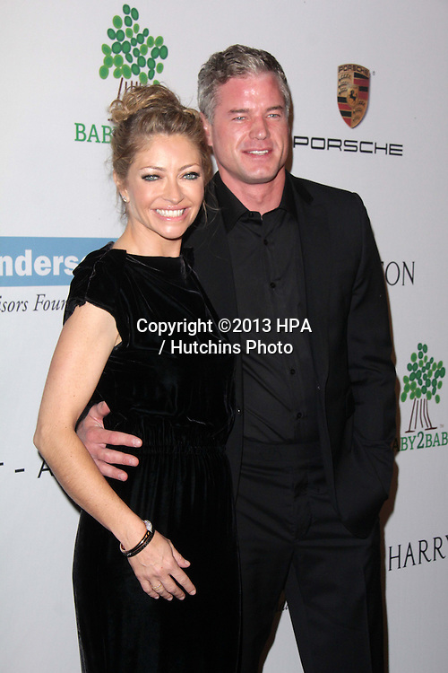 LOS ANGELES - NOV 9:  Rebecca Gayheart, Eric Dane at the Second Annual Baby2Baby Gala at Book Bindery on November 9, 2013 in Culver City, CA