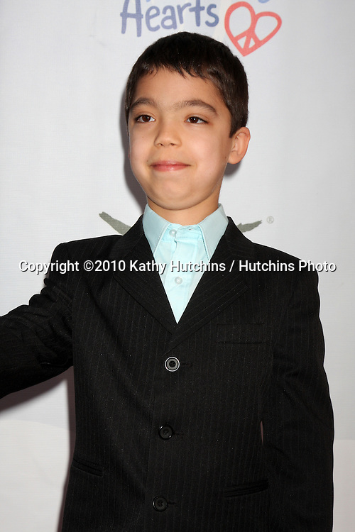 "Ethan Bortnick.arrives at the Children Mending Hearts 3rd ""Peace Please"" Gala.Music Box @ Fonda .Los Angeles, CA.April 16, 2010.©2010 Kathy Hutchins / Hutchins Photo..."