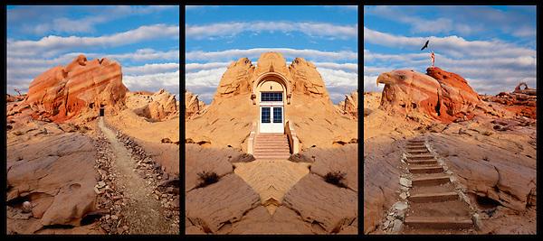 Three Paths (Triptych)