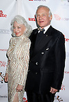 HOLLYWOOD, CA. - October 23: Astronaut Buzz Aldrin and his wife Lois Aldrin arrive at the Sir Richard Branson Charity Event Rock The Kasbah Benefitting Virgin Unite at The Hollywood Roosevelt Hotel on October 23, 2008 in Hollywood, California.