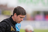 Bristol Rovers manager Darrell Clarke during the Sky Bet League 2 match between Bristol Rovers and Dagenham and Redbridge at the Memorial Stadium, Bristol, England on 7 May 2016. Photo by Mark  Hawkins / PRiME Media Images.