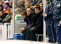 11/11/2006       Copyright Pic: James Stewart.File Name :sct_jspa02_rangers_v_dunfermline.PAUL LE GUEN WATCHES HIS TEAM AGAINST DUNFERMLINE.James Stewart Photo Agency 19 Carronlea Drive, Falkirk. FK2 8DN      Vat Reg No. 607 6932 25.Office     : +44 (0)1324 570906     .Mobile   : +44 (0)7721 416997.Fax         : +44 (0)1324 570906.E-mail  :  jim@jspa.co.uk.If you require further information then contact Jim Stewart on any of the numbers above.........