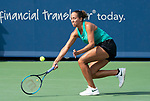 August  16, 2018:  Madison Keys (USA) defeated Angelique Kerber (GER) 2-6, 7-6, 6-4, at the Western & Southern Open being played at Lindner Family Tennis Center in Mason, Ohio. ©Leslie Billman/Tennisclix/CSM