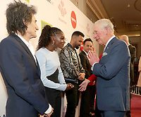 11/03/2020 - Ronnie Wood, Dina Asher Smith, Craig David, Anthony Ant McPartlin and Declan Dec Donnelly and Prince Charles at The Princes Trust Awards 2020 At The London Palladium. Photo Credit: ALPR/AdMedia