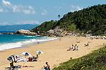Praia do Estaleirinho, Balneário Camboriú, Santa Catarina, Brasil